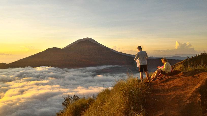 Mount Batur Trekking white water rafting
