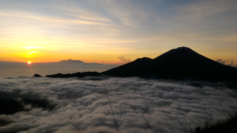 Enjoy Sunrise on the Summit of Mount Batur