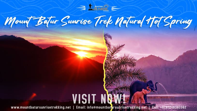 Mount Batur Sunrise Trek Natural Hot Spring