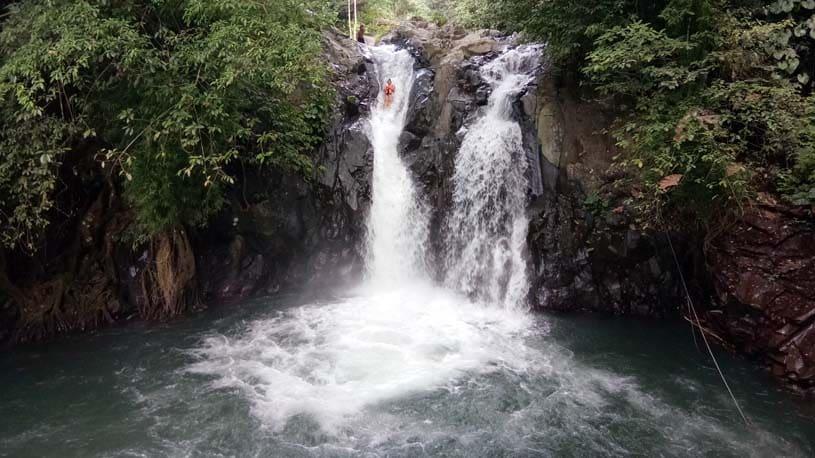 Aling Aling waterfall trekking