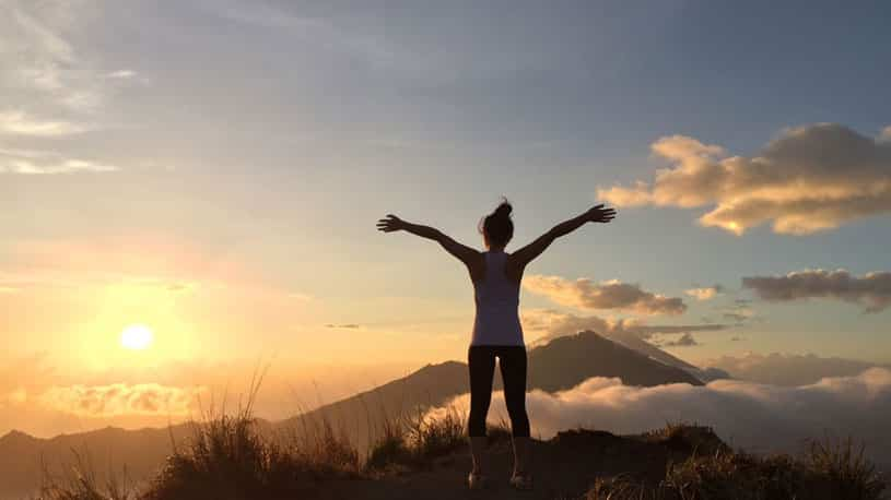 Tips how to Organize your Breath While Climbing Mount Batur