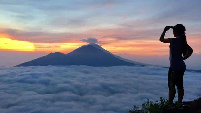 Know Mount Batur as mother of Mount Agung
