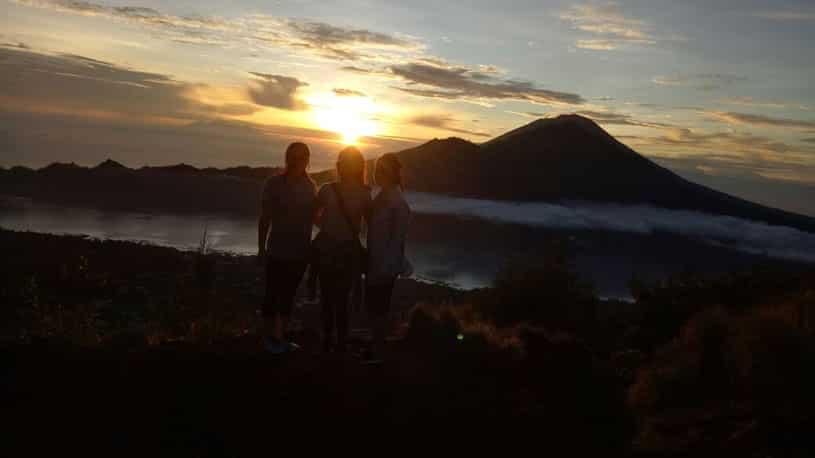 Charm Sunrise of Mount Batur Bali